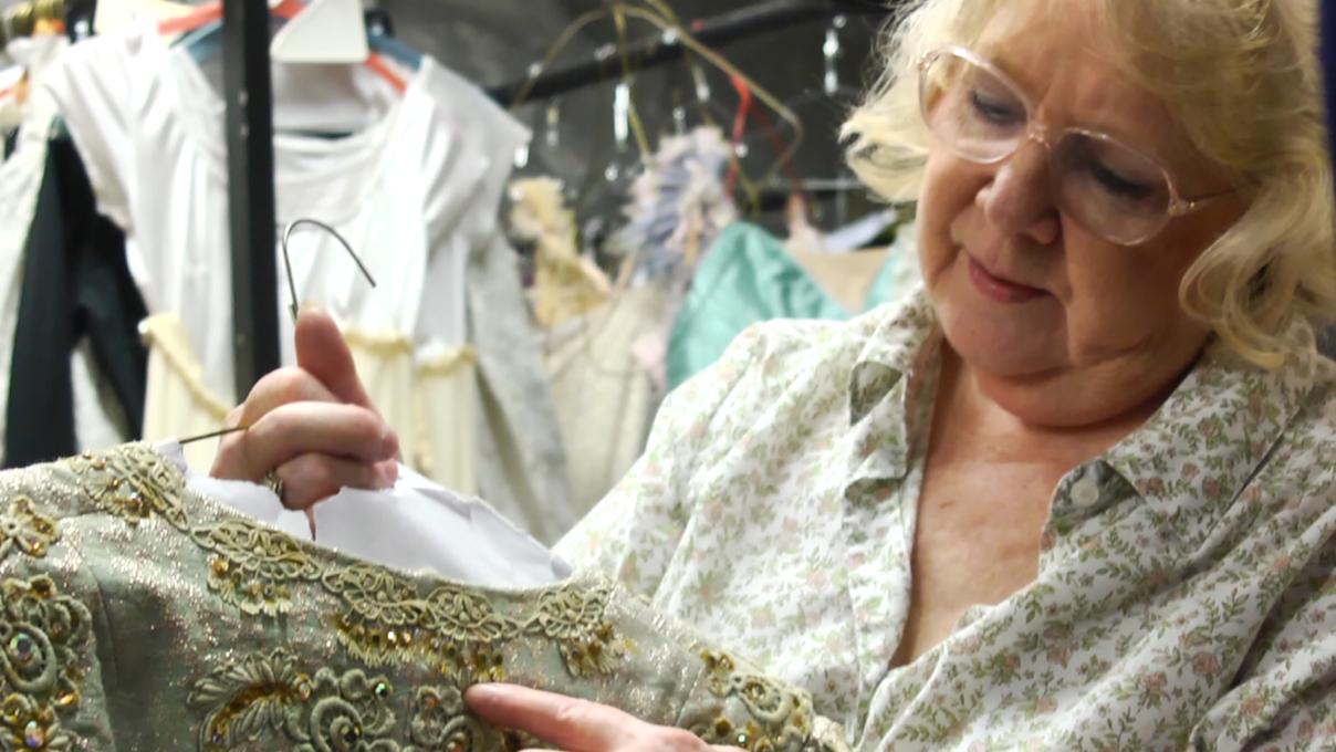 Inside Cinderella's Wardrobe