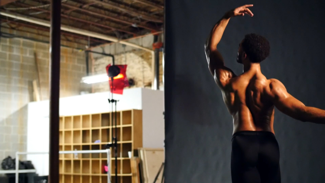 Cincinnati Ballet's 2017-2018 season photo shoot